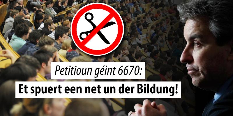Petitioun géint d'6670-Gesetz